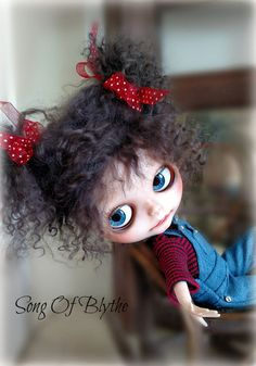 Custom OOAK Blythe Doll Total Remake by SongOfBlythe on Etsy