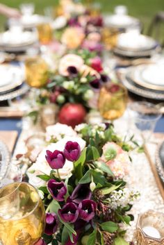 Wedding Reception Centerpieces, Wedding Themes, Wedding Designs, Centrepieces, Wedding Ideas, Tea Table Settings, Twilight Wedding, Holiday Dinner, Here Comes The Bride