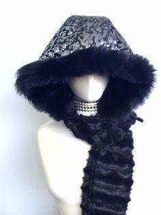 Perfect winter accessory for kimono