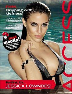 Сексуальная Jessica Lowndes (Джессика Лаундес) фото в журнале FHM, октябрь 2011, Africa