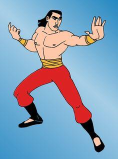 Marvel....Shang as Shang-Chi by mooky7sa.deviantart.com