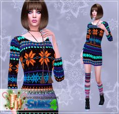 Anarchy-Cat: Clothing for females 83 • Sims 4 Downloads