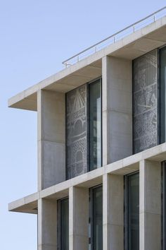 University of Brighton by Proctor & Matthews Architects Modern Architecture House, Facade Architecture, University Holidays, Lecture Theatre, Bayeux Tapestry, Building Facade, Exhibition Space, Facade Design, New Builds