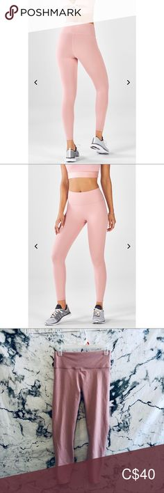 Fabletics High-Waisted PowerHold In perfect condition No size listed. Measurements available upon request Fabletics Pants Leggings Plus Fashion, Fashion Tips, Fashion Trends, Colorful Leggings, Pants For Women, Best Deals, Closet, Outfits, Collection