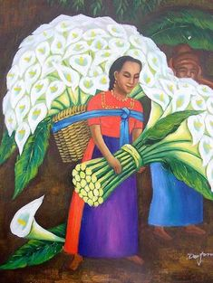 Diego Rivera painting