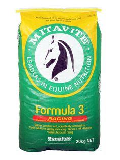 Formula 3® | Mitavite  #mitavite #horsefeeds #horses #equine #equestrian #formula3 #australiasNo.1 #oatfree #racefeed #equinenutrition #palatable #muesli #completefeed #bonafide #pronetotyingup #suitableforallhorses #energysource #highelectrolytes