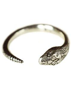 Pamela Love Serpent Ring Silver