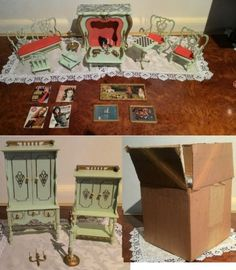 serie principessa, salotto per bambole  galletti galba 1965