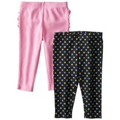 JUST ONE YOU  Made by Carters ® Infant Girls' 2 Pack Pant - Black/Pink.Opens in a new window. $16 talles: RN, 3, 6, 9, 12, 18 meses