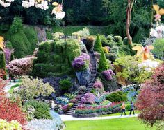 Breathtaking Butchart Gardens British Columbia Canada Photo with Butchart Garden In Canada | Goventures.org