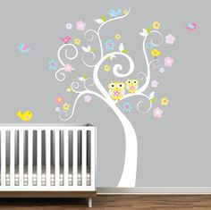 Wall Decals Nursery wall Tree Decal  Swirl Tree by Modernwalls, $99.00