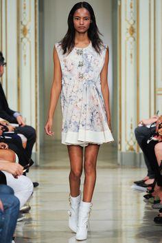 Francesco Scognamiglio Spring 2014 Ready-to-Wear Fashion Show - Malaika Firth