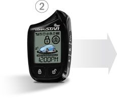 The Compustar PRO RF-P2W901-SS gives you full control over your vehicle with Spread Spectrum technology, the industry's most powerful and reliable radio frequency. From up to a mile away, you can secure and start your vehicle with a touch of a button. The RF-P2W901-SS remote will use 2-way confirmation to alert you when your commands have been successfully transmitted. Also, save big on batteries with the RF-P2W901-SS remote's Lithium-ion battery, which can be recharged using any micro-USB…
