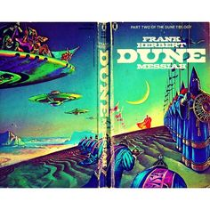 #scifi #scifiart #scificovers #sciencefiction #cover #book #books #vintage #vintagecover #vintagescifi #paperback #geek #geekculture #geeky #geeks #fantasy #fx #futuristic #future #frankherbert #dune #davidlynch #psychedelic by sf_cover