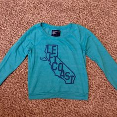 American Eagle Cropped Sweatshirt Perfect!  Worn maybe a handful of times. Shorter cut, hits right at the waist. Very comfy! American Eagle Outfitters Tops Sweatshirts & Hoodies