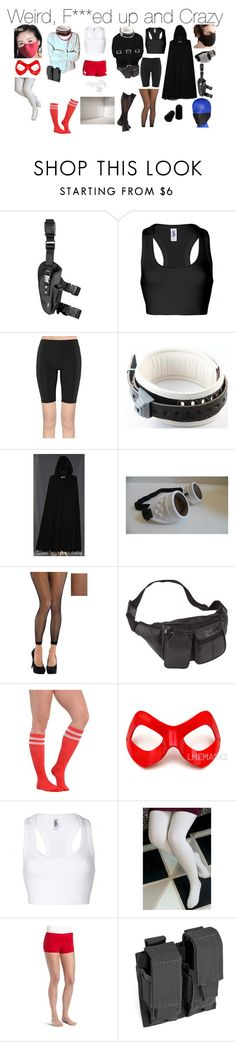 """Weird, F***ed up and Crazy"" by emmasart ❤ liked on Polyvore featuring Masquerade, Danskin, Red Rock Outdoor Gear, straitjacket, Straitjackets, Paddedcell and Paddedroom"