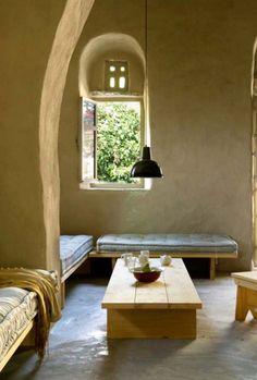 de coraç@o: Casa de Campo Minimalista em Tinos - Grécia