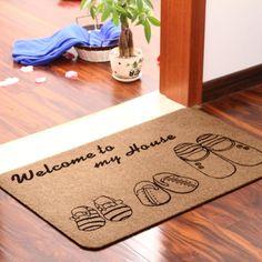 Antiderrapante orthod pad tapete tapete de banho tapetes corredor tapete capacho resíduos de absorção 40 * 60 cm alishoppbrasil