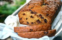 It's not summer without zucchini, and this healthier zucchini bread recipe even packs chocolate chips! Swap in applesauce for a 130-calorie per slice treat.