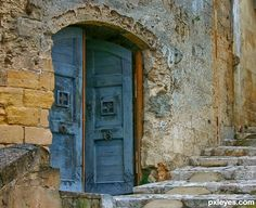 It is in a very old town in Italy called Matera. dherrero
