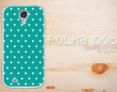 Samsung galaxy note 3 soft rubber case, tough polka dots cyan galaxy S4 case dot Galaxy Note 2 hard case, Galaxy S3 Case,dot Galaxy S5 case