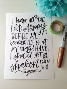 Shall Not Be Shaken