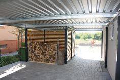 Carports garage doors canopies sheds carport webs … – Door Ideas Carport Garage, Pergola Carport, Garage Doors, My Home Design, Modern Design, House Design, Metal Roof Installation, Carport Designs, Carport Ideas