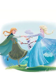 Anna, Olaf and Elsa