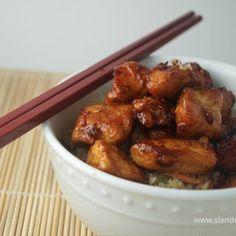 Healthy Slow Cooker Honey Garlic Chicken