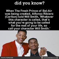 did you know? - When The Fresh Prince of Bel-Air was being...