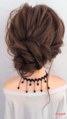 Hairdo For Long Hair, Bun Hairstyles For Long Hair, Simple Hair Updos, Hair Updo Easy, Casual Updos For Long Hair, Updo Hairstyles Tutorials, Work Hairstyles, Medium Hair Styles, Short Hair Styles
