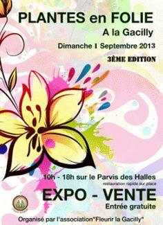 Exposition vente plantes en folie. Le dimanche 1er septembre 2013 à La Gacilly.