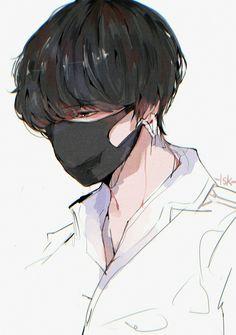 Artwork Bts V Anime Wallpaper Jungkook Fanart, Fanart Bts, Anime Art Girl, Manga Art, Anime Girls, Bts Anime, Cool Anime Guys, Kpop Drawings, Handsome Anime