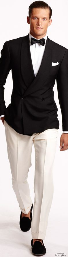 Ralph Lauren 2015 | Menswear | Men's Fashion | Men's Outfit for Spring/Summer Weddings or Special Events | Stylish and Sophisticated | Moda Masculina | Shop at designerclothingfans.com