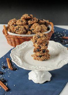 Blueberry Pecan Coconut Cookies