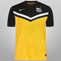 Camisa Nike Santos III 2014 s nº - Vila do Santos 48b21fc8633a3