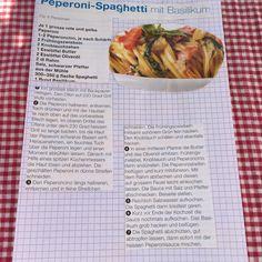 Peperoni Sphagetti