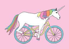 unicorn+riding+bike+print+linedraw.jpg 570 ×407 pixel