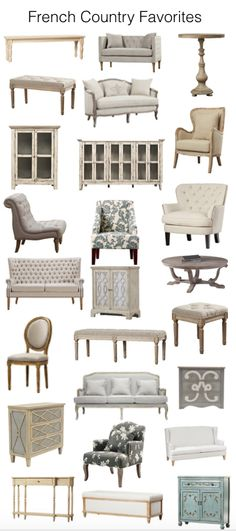 How gorgeous is this!? Love french country neutrals