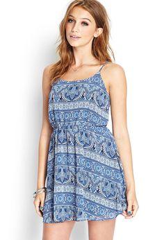 Paisley Print Cami Dress | FOREVER21 - 2000105761