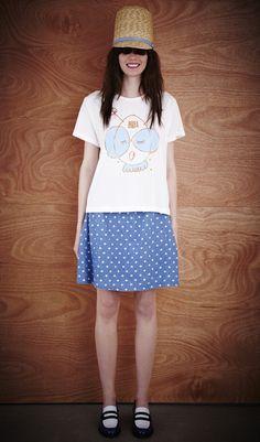 Karen Walker Runaway AW13 Lookbook | Fashion Magazine | News. Fashion. Beauty. Music. | oystermag.com