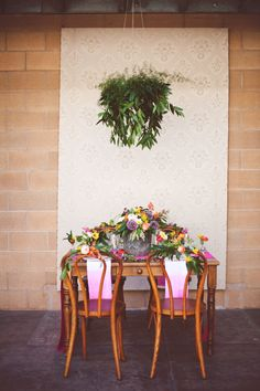 Colorful and modern tablescape  | photos by Ceebee Photography | 100 Layer Cake