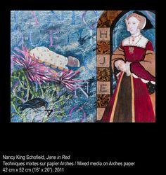 Nancy King Schofield - Jane in Red