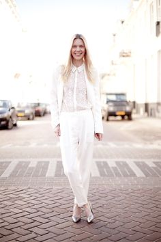 #White #WhiteFashion #WhiteHot #AllWhiteFashion #Fashion #Style