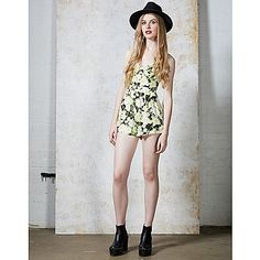 Hearts and Bows Floral Playsuit | ARK Clothing