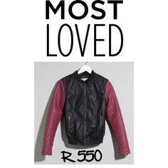 Ladies Black/Plum Biker Jacket by jadeclaire19 on Polyvore