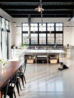 Zo creëer je de perfecte industriële keuken - Roomed
