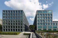 Max Dudler Architekt, Stefan Müller · Herostrasse office building. Zurich