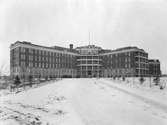 Royal Alexandra Hospital, 1922. Canada Eh, Western Canada, Canadian History, Alberta Canada, Abandoned Places, Amazing Places, Jasper, Places To See, The Good Place
