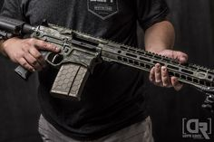 Hexmag 7.62x51NATO Magazine in this Ascend Armory Billet AR10  Photo by Down Range Photography